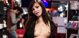 Jeny Smith Sex Shop Tease